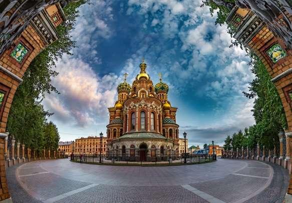 Savior on Spilled Blood. Orthodox church. St. Petersburg