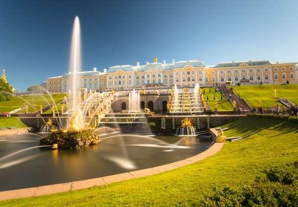 Perterg of, St-Petersburg.