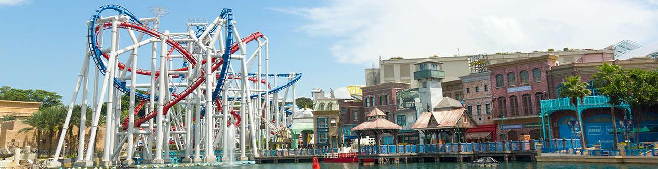 Take pleasure in adventurous Roller Coaster Rides
