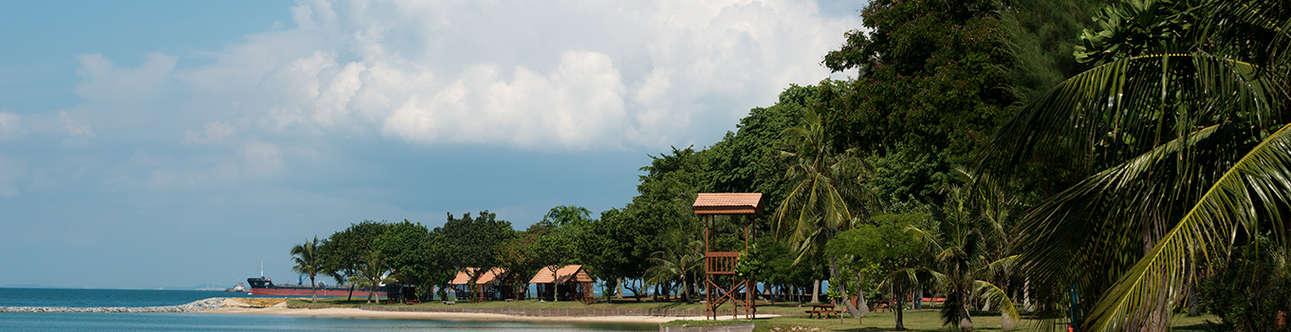 Relish the breathtaking sight of Kusu Island in the Singapore