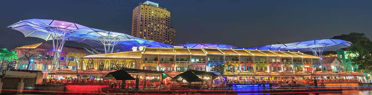 Visit the Clarke Quay in Singapore