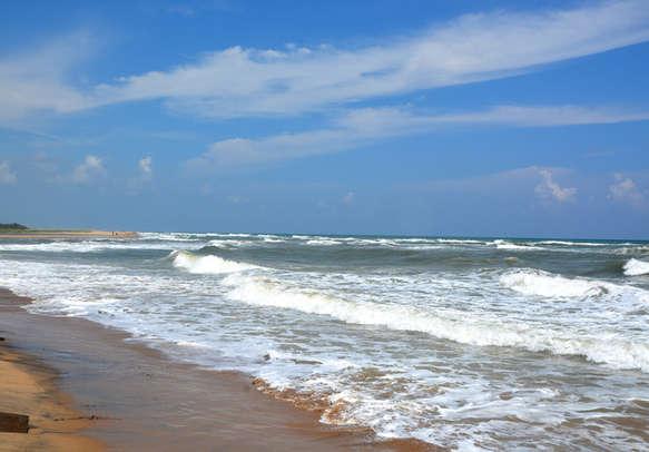 Treat yourself at the pristine Promenade beach