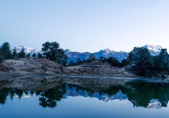 Mesmerizing view at Chopta