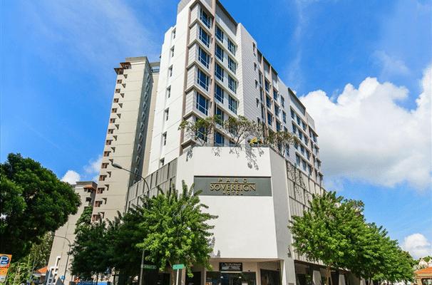 Parc Sovereign Hotel   Albert St