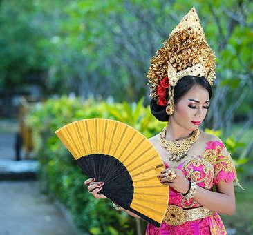 Lose yourself in paradisiacal Bali