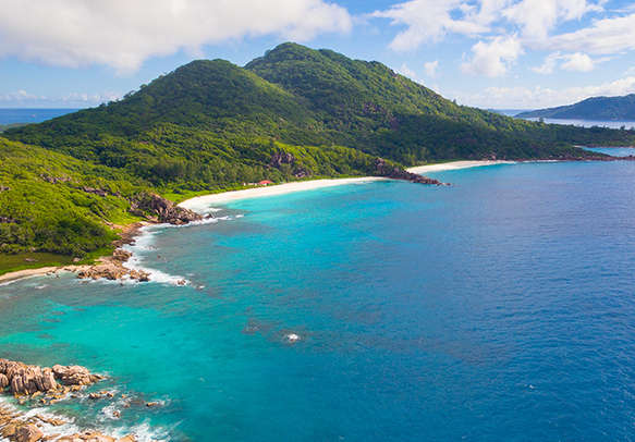 Have a great time at Baie Beau Vallon Beach