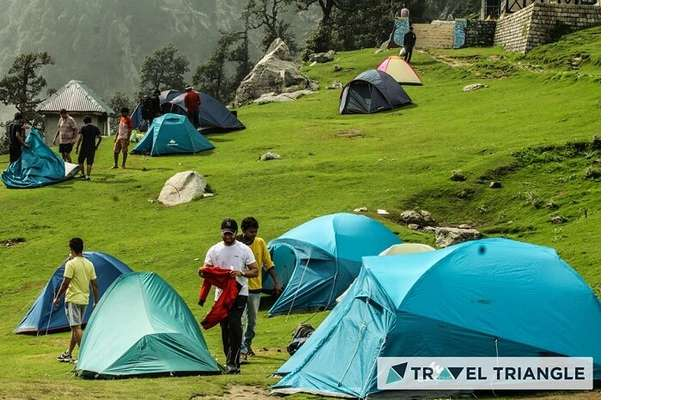 Camp in Triund