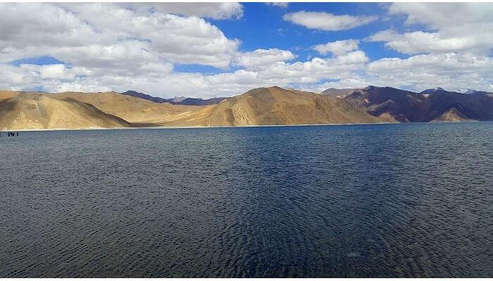 Berautiful Pangong Lake in Ladakh