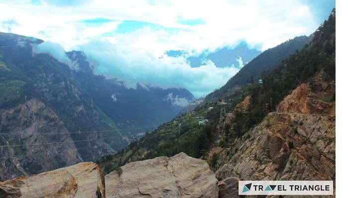 Kazo hills in Himachal