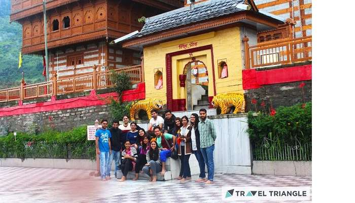 Bhimkaali temple in Himachal Pradesh
