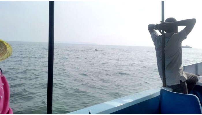 Enjoy the open waters in Goa