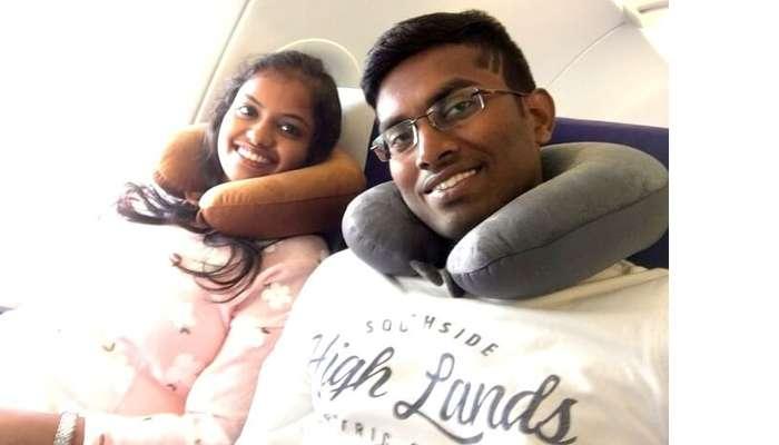 Flying into Dubai