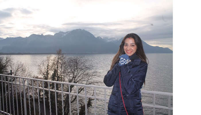 enjoying in Interlaken