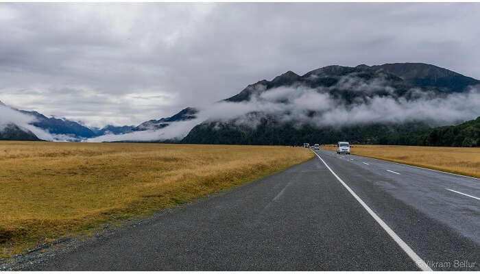route to milford sound