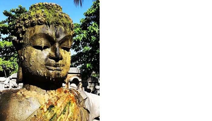 Buddha statue in Bali