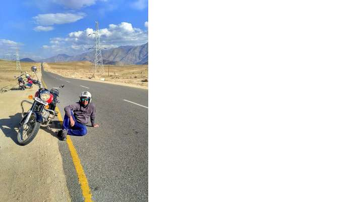ninad bike trip to ladakh