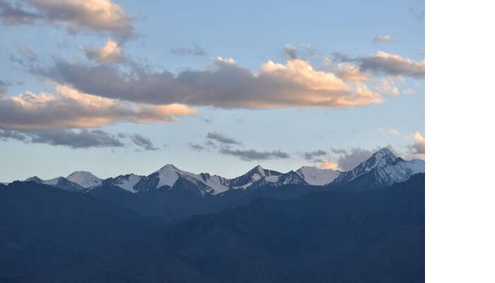 lokpal romantic trip to ladakh: scenic views of hills