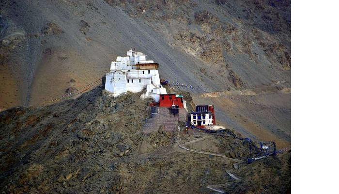 lokpal romantic trip to ladakh: monastery in leh