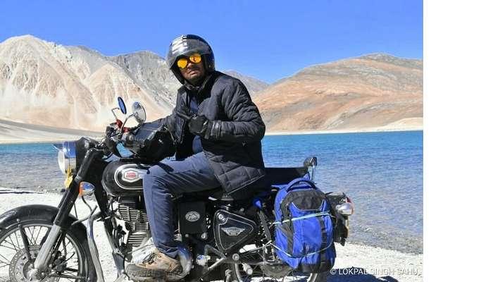 lokpal romantic trip to ladakh: bike ride in ladakh