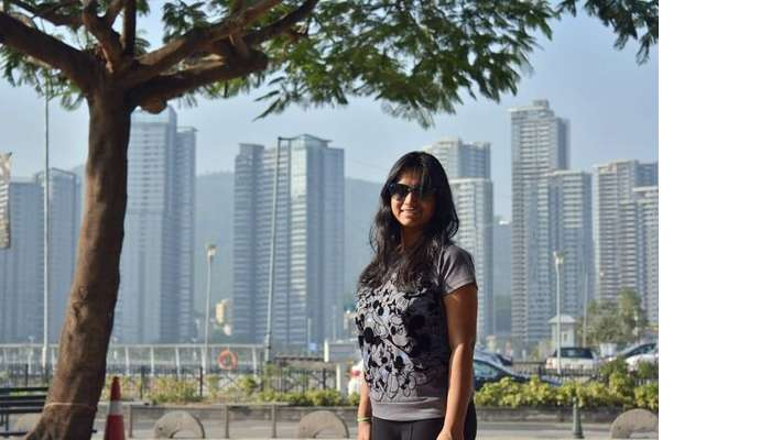 isha aggarwal hong kong family trip: isha sister in law in hong kong