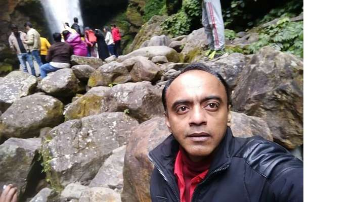 Shantanu northeast trip- Khangchendzonga waterfall