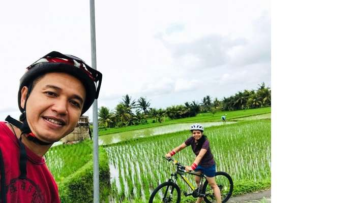 Cycling tour in Bali