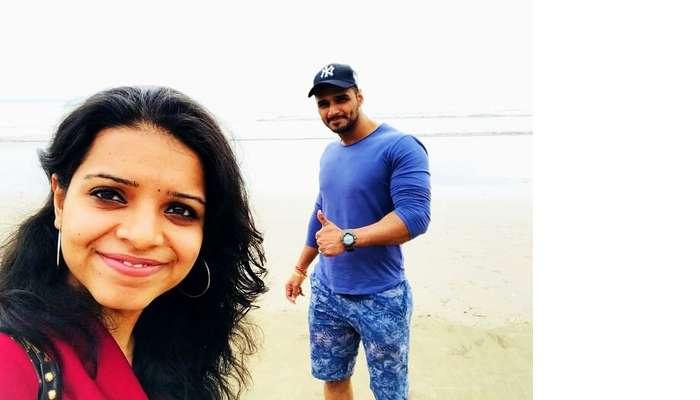 Couple exploring beaches in Bali
