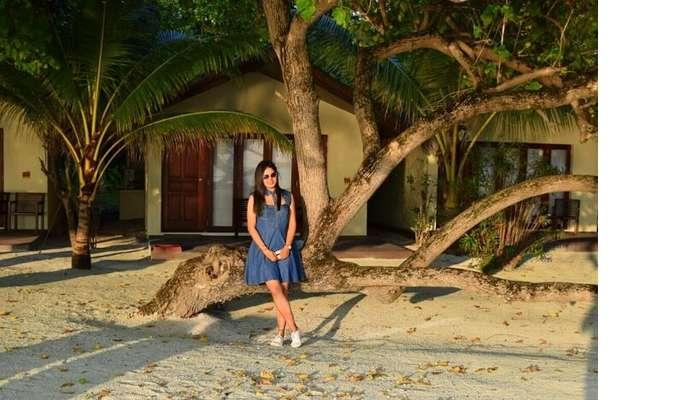 sushmita maldives honeymoon: day 1 exploring room
