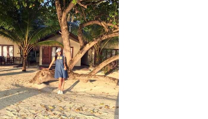 sushmita maldives honeymoon: day 1 room