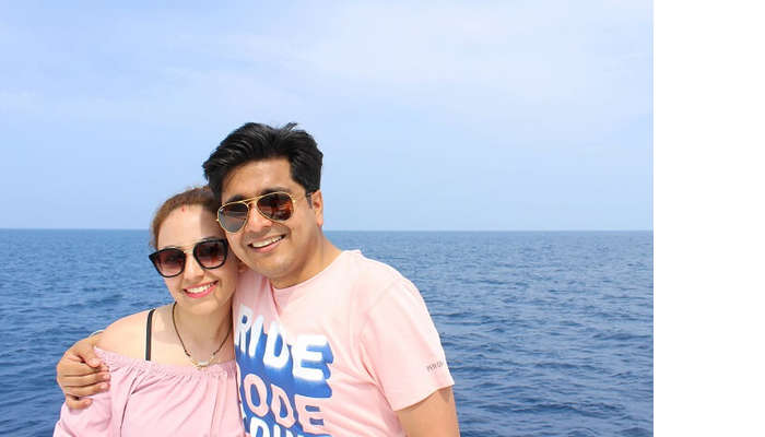 ankit wadhwa maldives honeymoon: trip starts