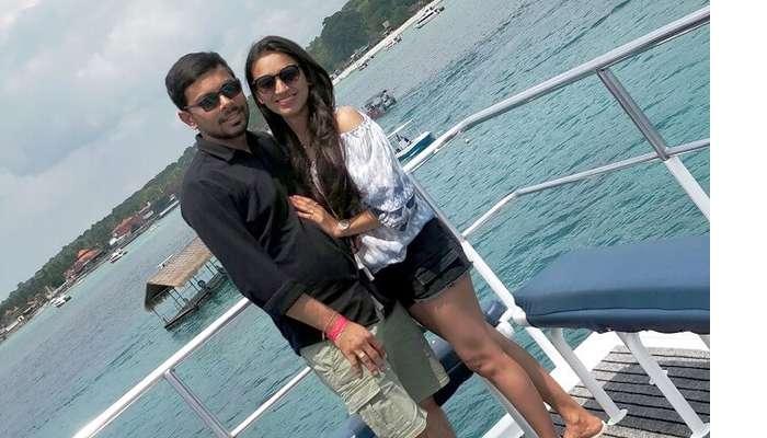 couple in bali hai cruise