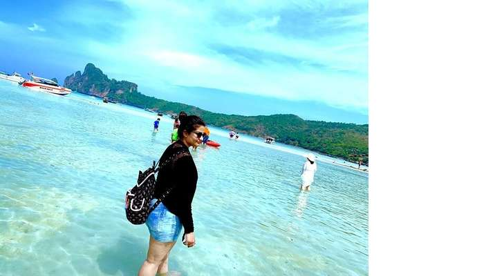 the famous Patong Beach