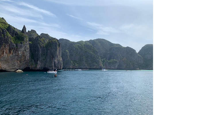 reached to the Phi Phi island
