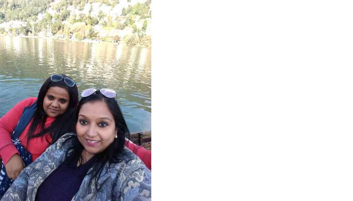 the boat ride of the famous Naini lake