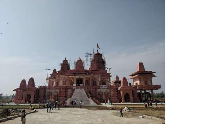 visit to Hanuman Dham