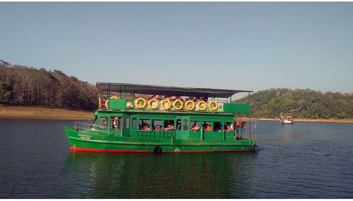 booked a boat safari