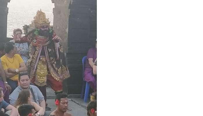 the Kecak Dance