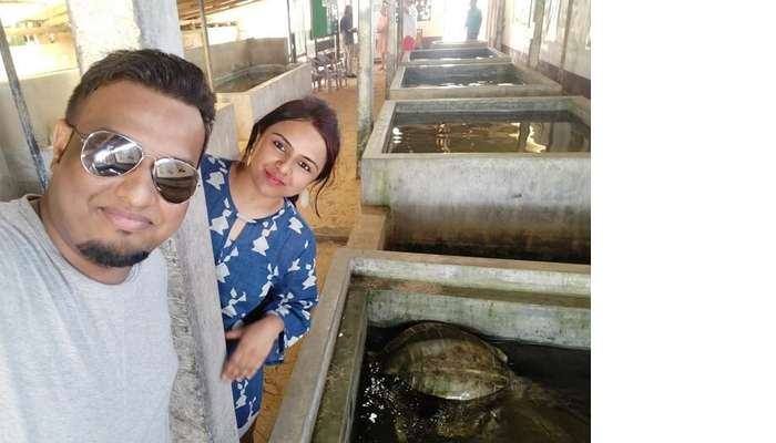 visited Turtle Hatchery at Galle