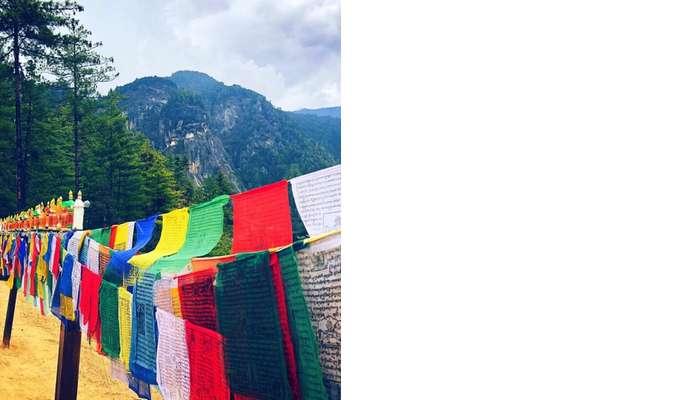 religious flags of Bhutan