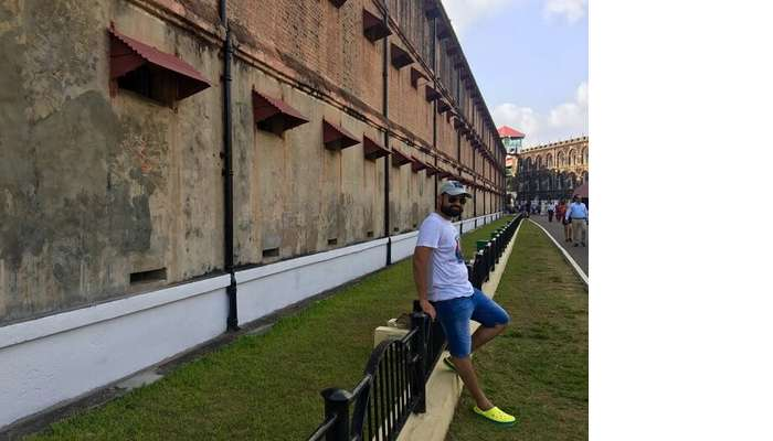 at the cellular jail