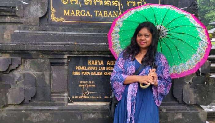 Sudha's nine days in Bali
