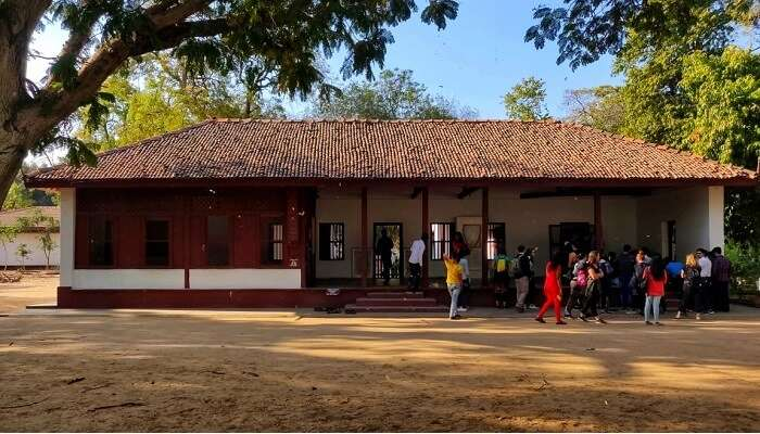 the famous Sabarmati Ashram