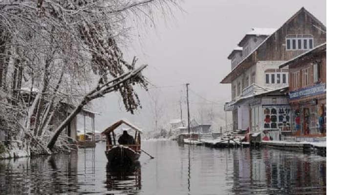 Boat Ride in Dal Lake