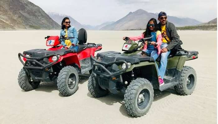thrilling experiences like Quad bike ride