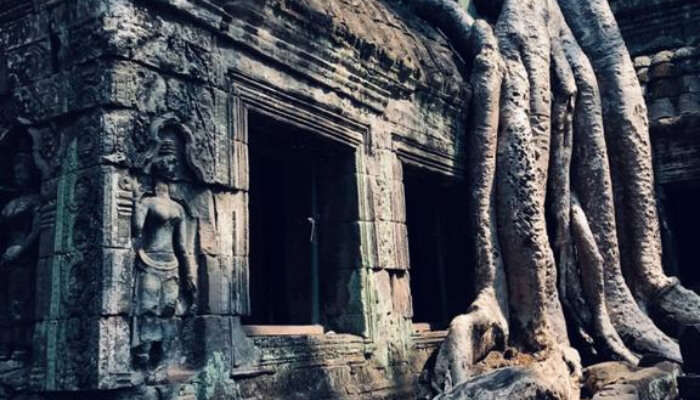 Priya at Ta Prohm