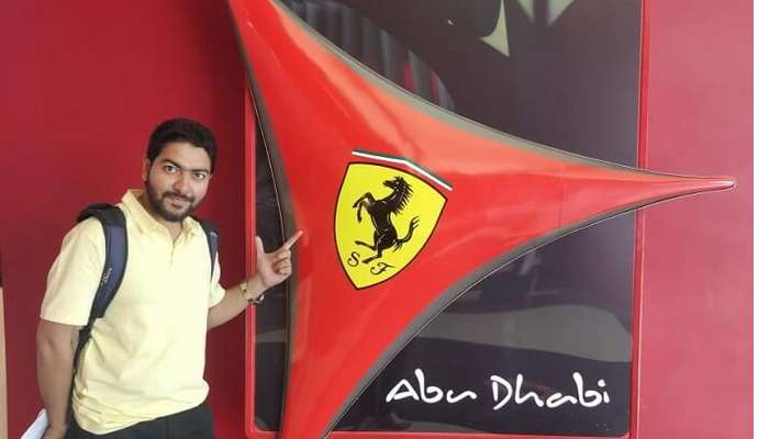 living in ferrari world
