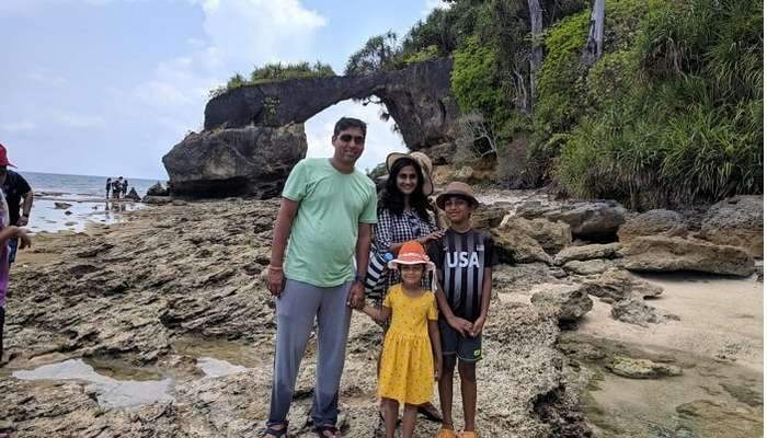 Family Photo at Havelock Island