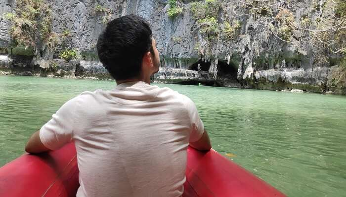 breathtaking view of the james bond island