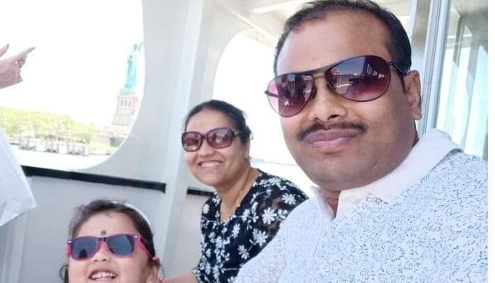 enjoying the cruise ride