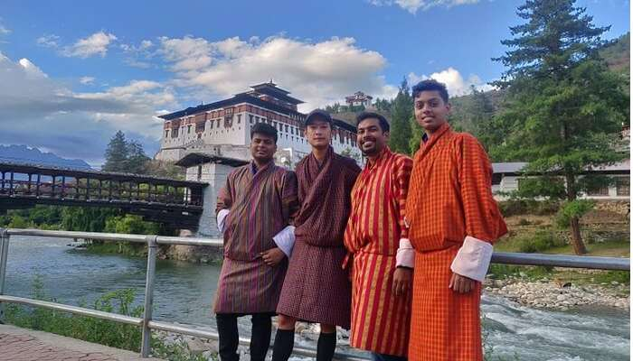 at Punakha Dzong